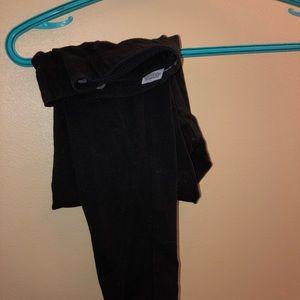 black garage full length leggings
